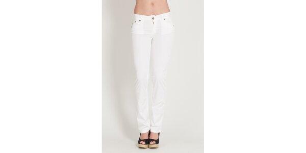 Dámské bílé kalhoty Lois