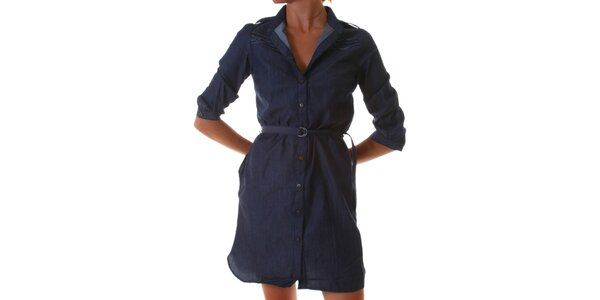 Dámské modré denimové šaty Diesel