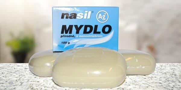 Mýdlo s nano stříbrem pro ochranu pokožky