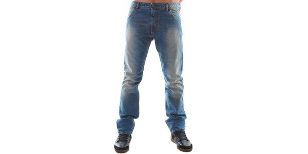 Pánské modré šisované ležérní džíny Diesel