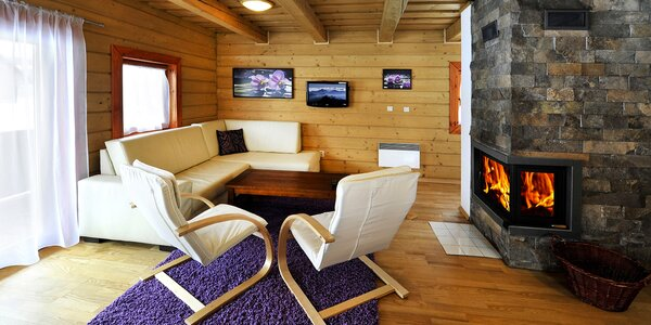 Pobyt v luxusní dřevěnici pro 6 os. na Liptově