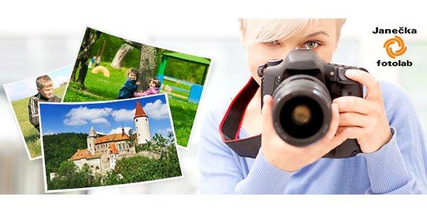 Vyvolání 100 ks fotografií