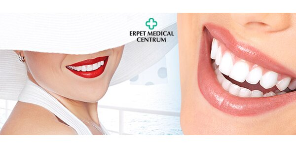 60min dentální hygiena na klinice Erpet Medical Centrum