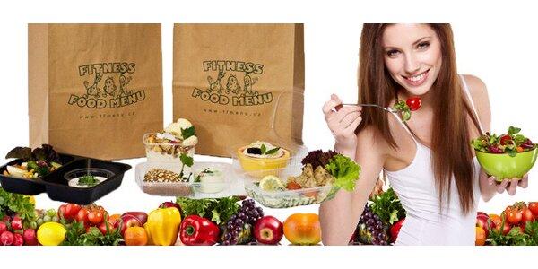 5 dní zdravé stravy Fitness Food Menu i s dopravou