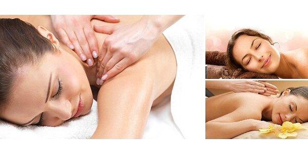 40 minutová relaxační či klasická masáž