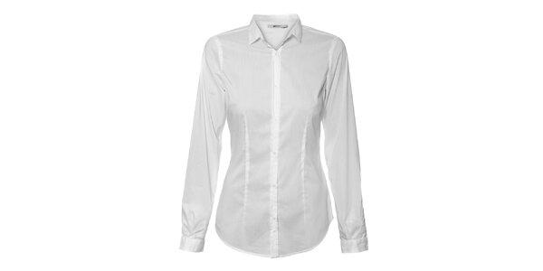 Dámská bílá košile GAS Jeans s dlouhým rukávem