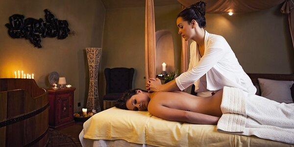 Vinný rituál pro dva: koupel, masáž, občerstvení