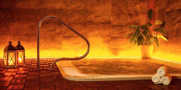 Romantický pobyt s neomezeným wellness a masáží