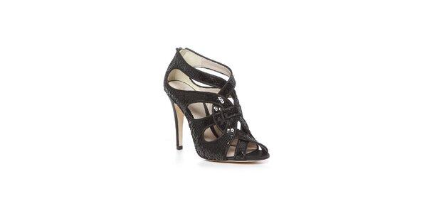 Stylové boty Bourne v černém provedení