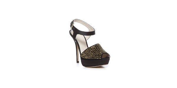 Černé městské boty Bourne