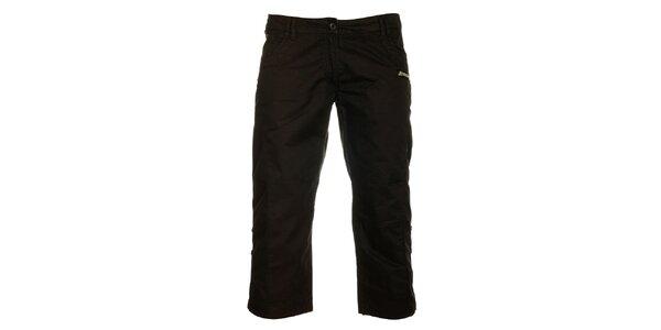 Dámské černé capri kalhoty Loap