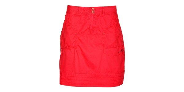 Dámská červená sukně Loap
