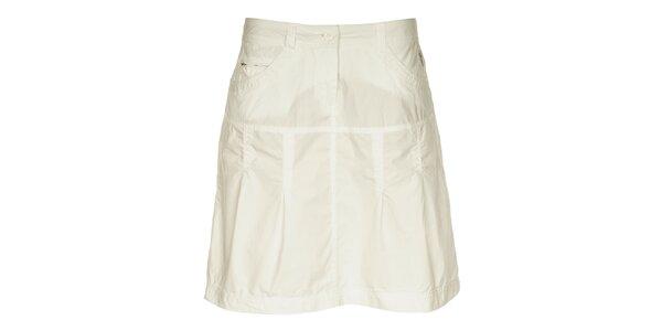 Dámská bílá sukně Loap