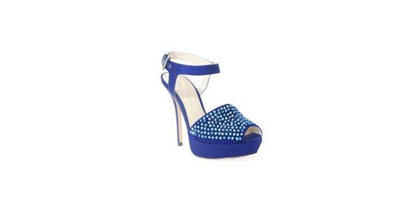 Stylové boty z dílny Bourn v modrém provedení