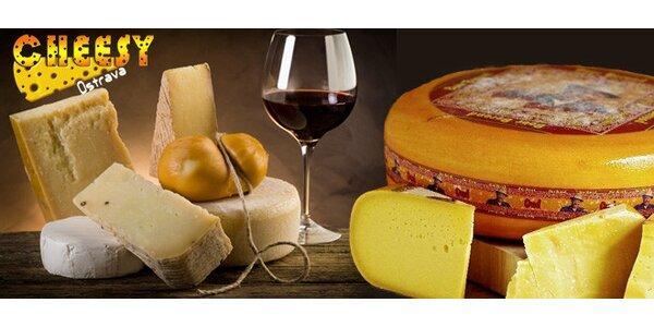Sýry ze specializované prodejny Cheesy. Kozí, ovčí i kravské