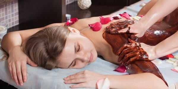 Sladká čokoládová masáž jako perfektní dárek