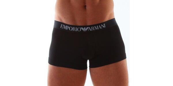 Černé spodní prádlo od Armani