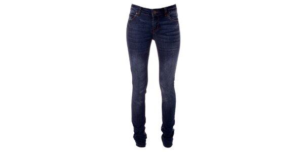 Dámské modré strečové džíny Only