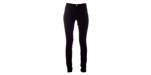 Dámské černé elastické kalhoty Only
