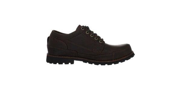 Pánské hnědé šněrovací boty Timberland
