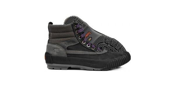Pánské černošedé sportovní boty Timberland