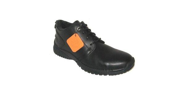 Pánské černé šněrovací boty Timberland