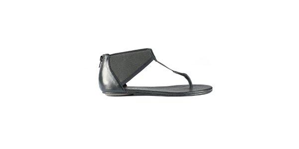 Dámské černé sandály Lise Lindvig