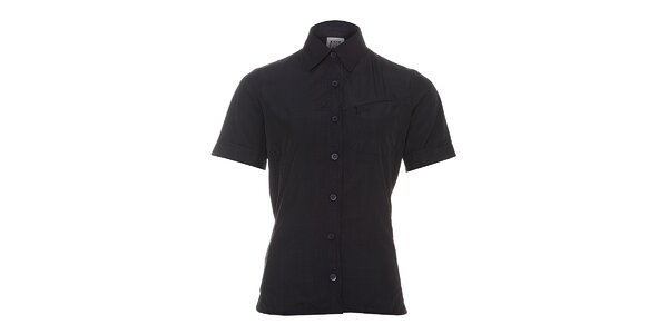 Dámská černá sportovní košile Rejoice