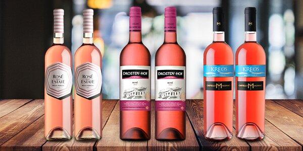 6 růžových vín ze slunné Itálie a jižní Afriky