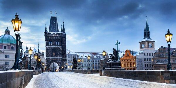 Zimní romantika v Praze se snídaní i kulturou