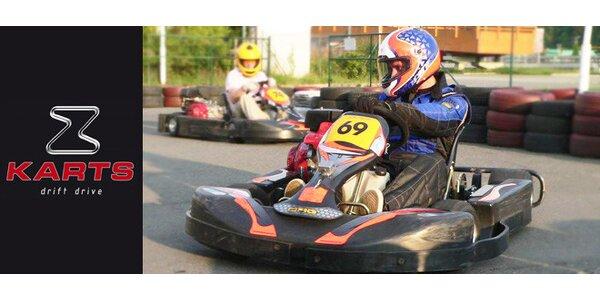 3měsíční členství v klubu Motokáry Zet-Karts