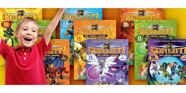Gormiti - balíček 3 DVD z druhé série