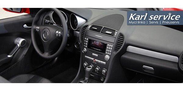 Tepování interiéru vašeho vozu