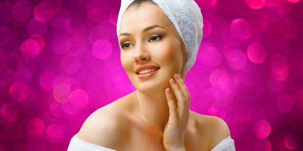 Důkladná kosmetická péče s liftingem i masáží