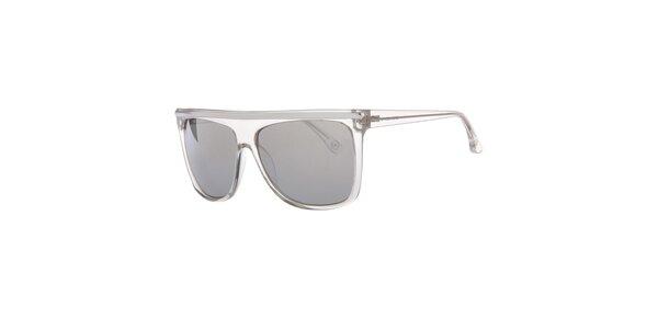 Pánské transparentní sluneční brýle s rovným horním rámečkem Michael Kors