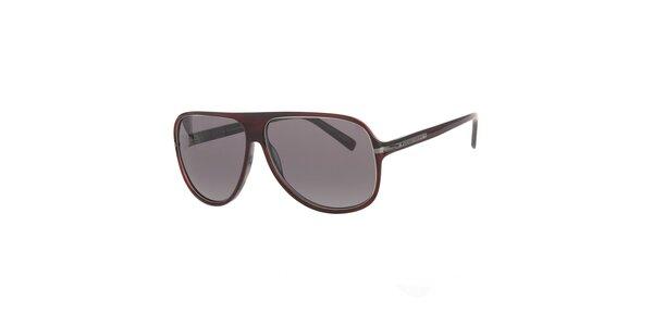 Pánské hnědé sluneční brýle Michael Kors