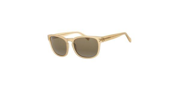 Pánské klasické béžové sluneční brýle Michael Kors