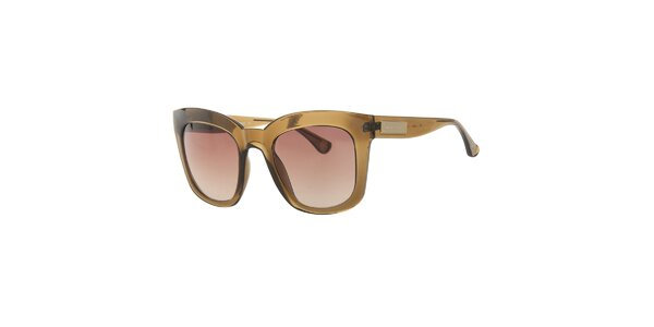 Dámské hnědé transparentní sluneční brýle Michael Kors
