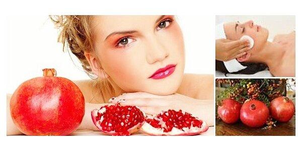 Kosmetické ošetření pleti nabité antioxidanty a vitamíny