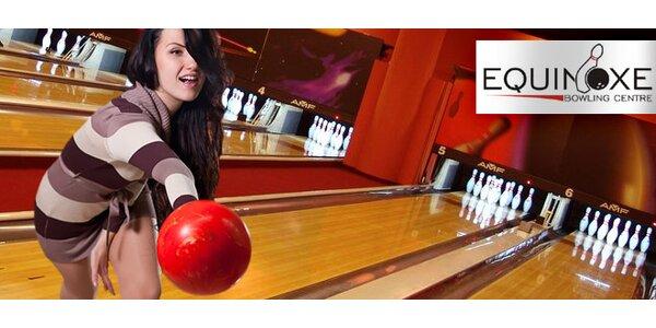 Bowling na Andělu až pro 8 hráčů od pondělí do čtvrtka