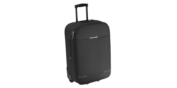 Šedivý kufr na kolečkách Valisa
