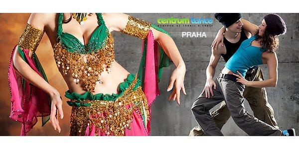 Letní otevřená karta Centra Tance Praha