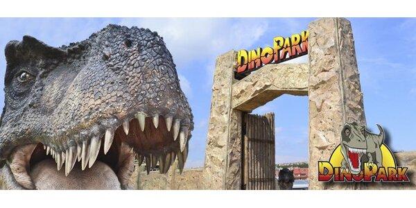 39 Kč za dětskou vstupenku do unikátního DinoParku!