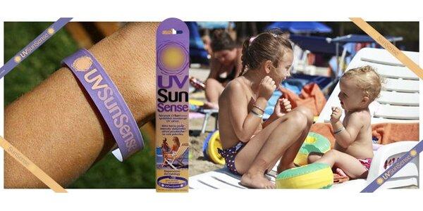 169 Kč za SEDM náramků UVSunSense™. Chraňte svou kůži před sluncem!