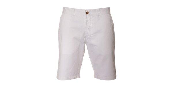 Pánské bílé džínové šortky Bendorff