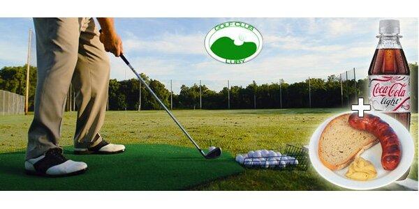 336 Kč za den na golfovém hřišti Luby U Chebu. Míčky na hru i driving range