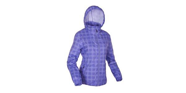 Dámská modrá kostkovaná funkční bunda Envy