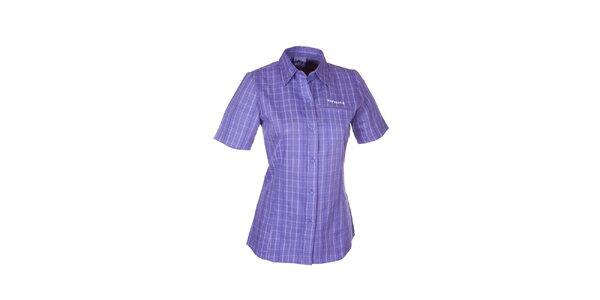 Dámská modrá kostkovaná košile Envy