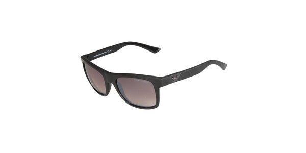 Černé sluneční brýle Emporio Armani