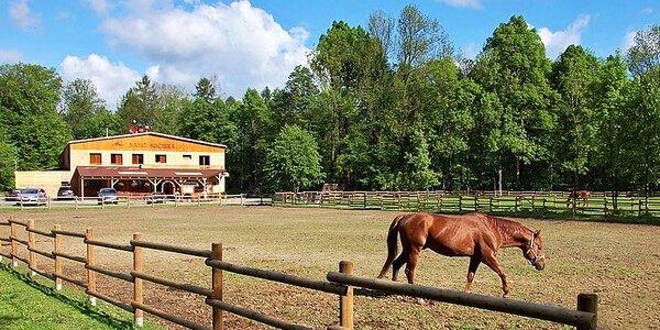Ranč v Beskydech: polopenze a jízda na koni